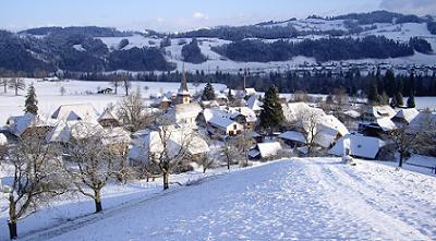 Winter in Rüderswil